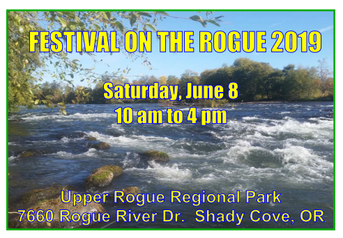Festival on the Rogue 2019 - Saturday, June 8 10 am to 4 pm