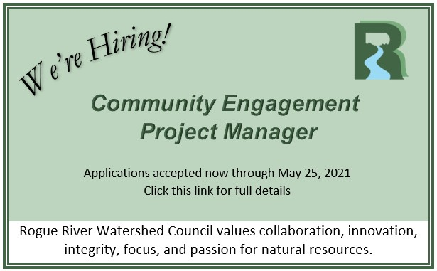 We're Hiring a Community Engagement Project Manager